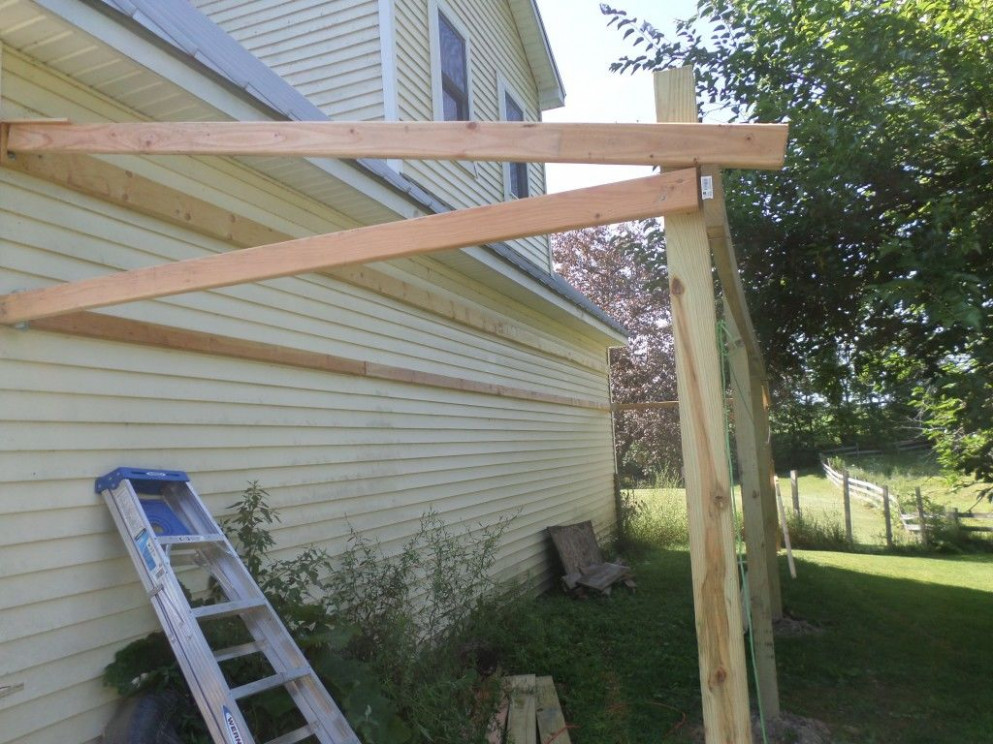 How To Build A Lean To Shed: 11 Steps (with Pictures) How To Build A Simple Wooden Carport
