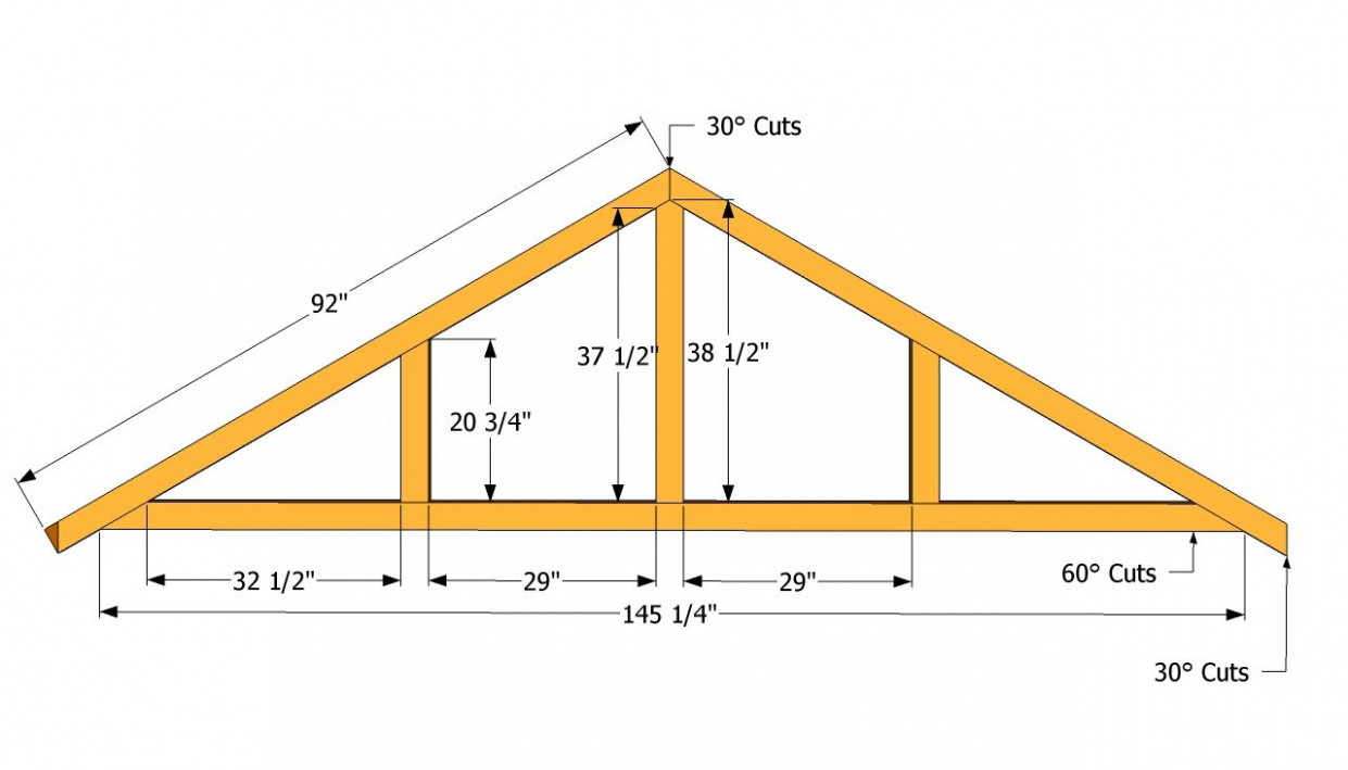 How To Build A Roof For A 8×8 Shed | DIY | Building A Shed ..