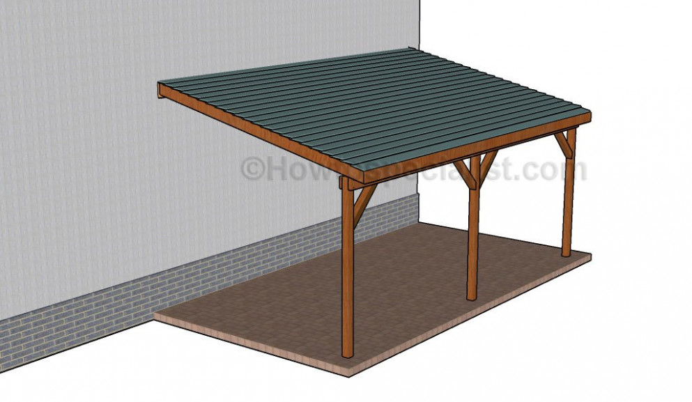 How To Build A Wooden Carport   HowToSpecialist How To ..