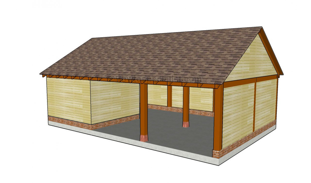 How To Build An Attached Carport | HowToSpecialist How ..
