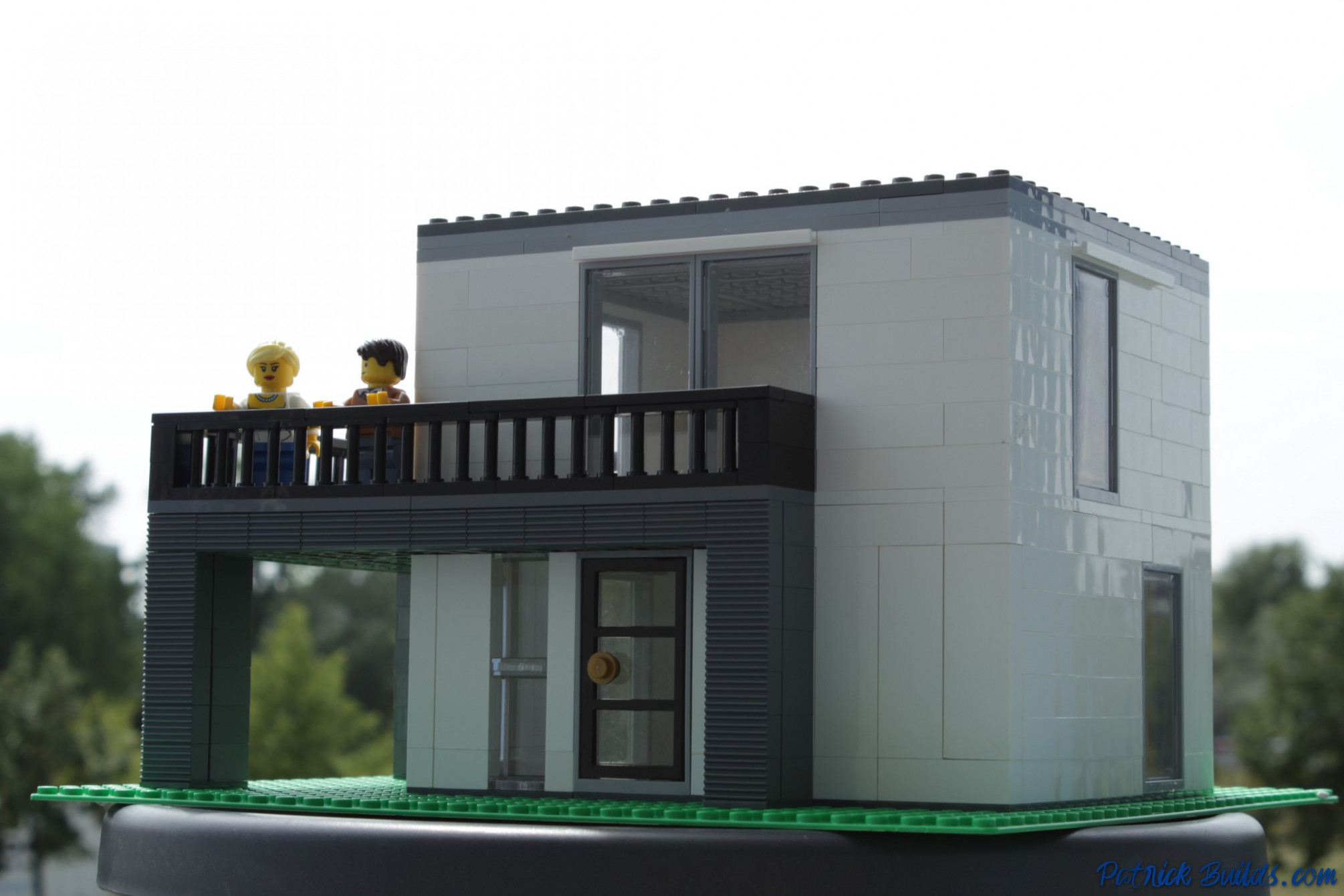 HOW TO BUILD LEGO Modern Small City Villa Patrick Builds Modern Carport Diy