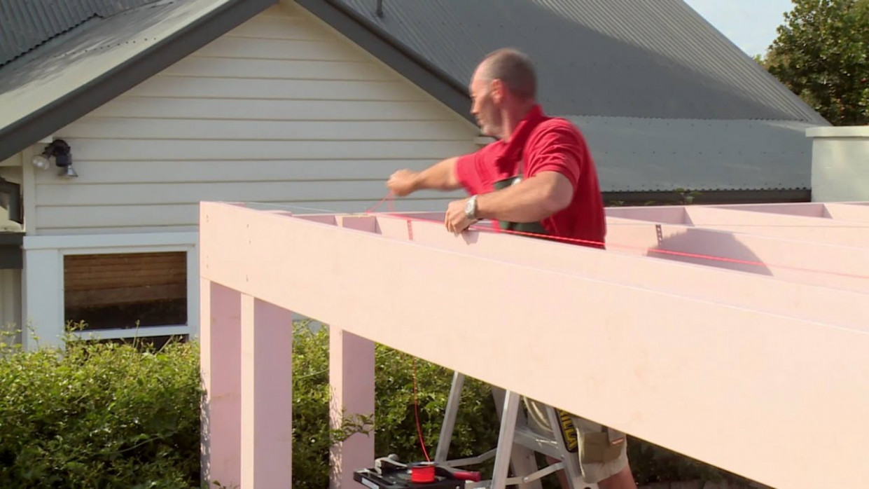 How To Install Battens On A Carport Roof DIY At Bunnings Bunnings Carport Roof