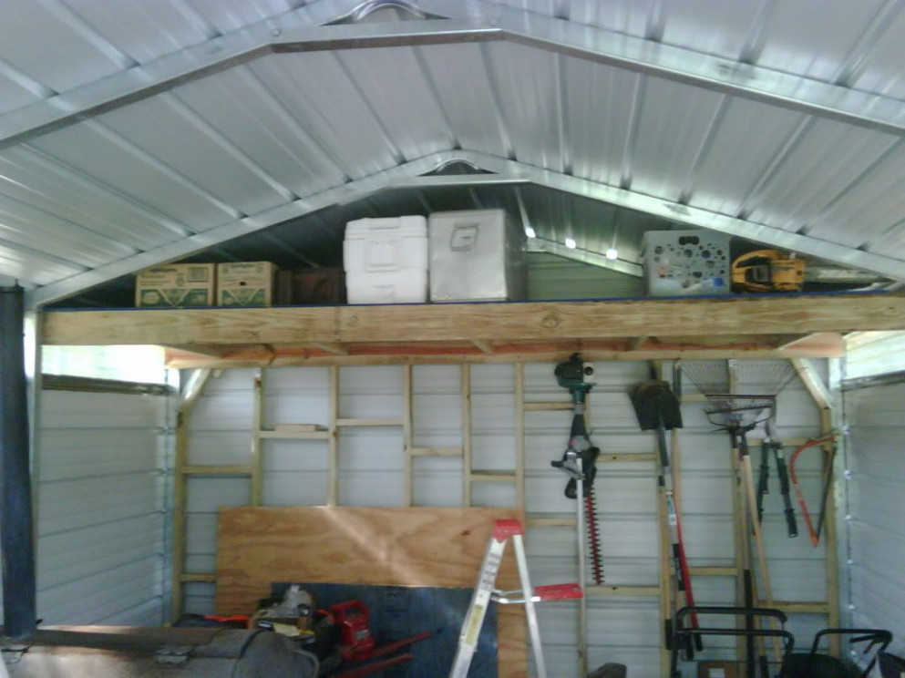 How To Organize My Steel Carport   The Nature Light In The ..