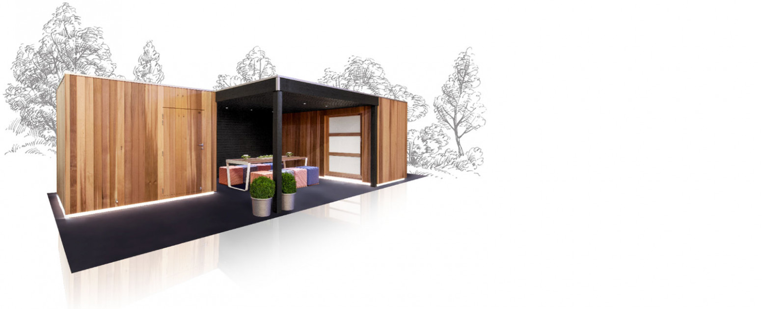 In Search Of A Wooden Garden House, Blockhouse, Carport? The ..