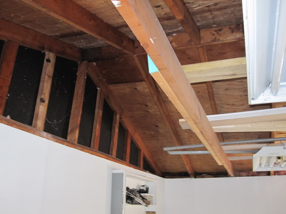Insulate Garage Ceiling Open Rafters The Better Garages ..