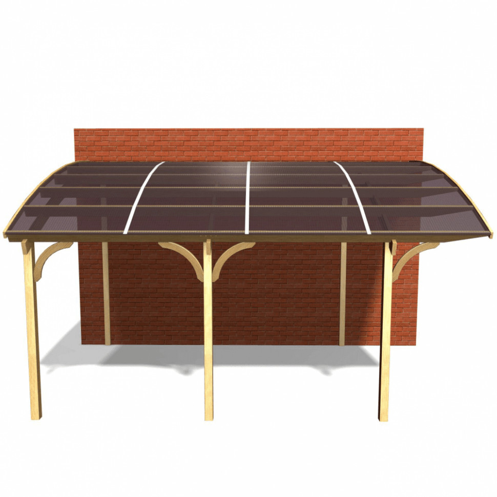 Jagram Ludlow Lean To Carport Wooden Carports Kits Uk
