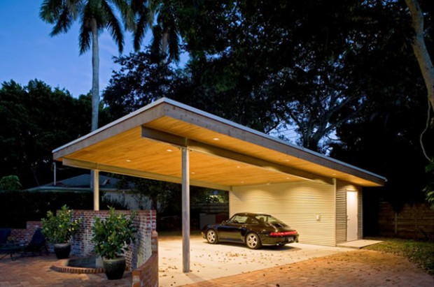Jolly Residence: Sarasota, Florida Modern Garage And ..
