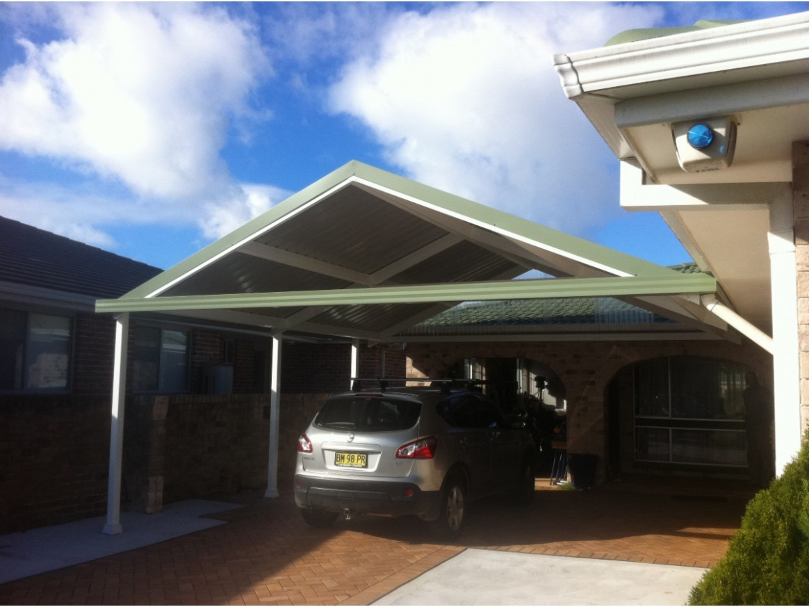 Attached Carport Roof