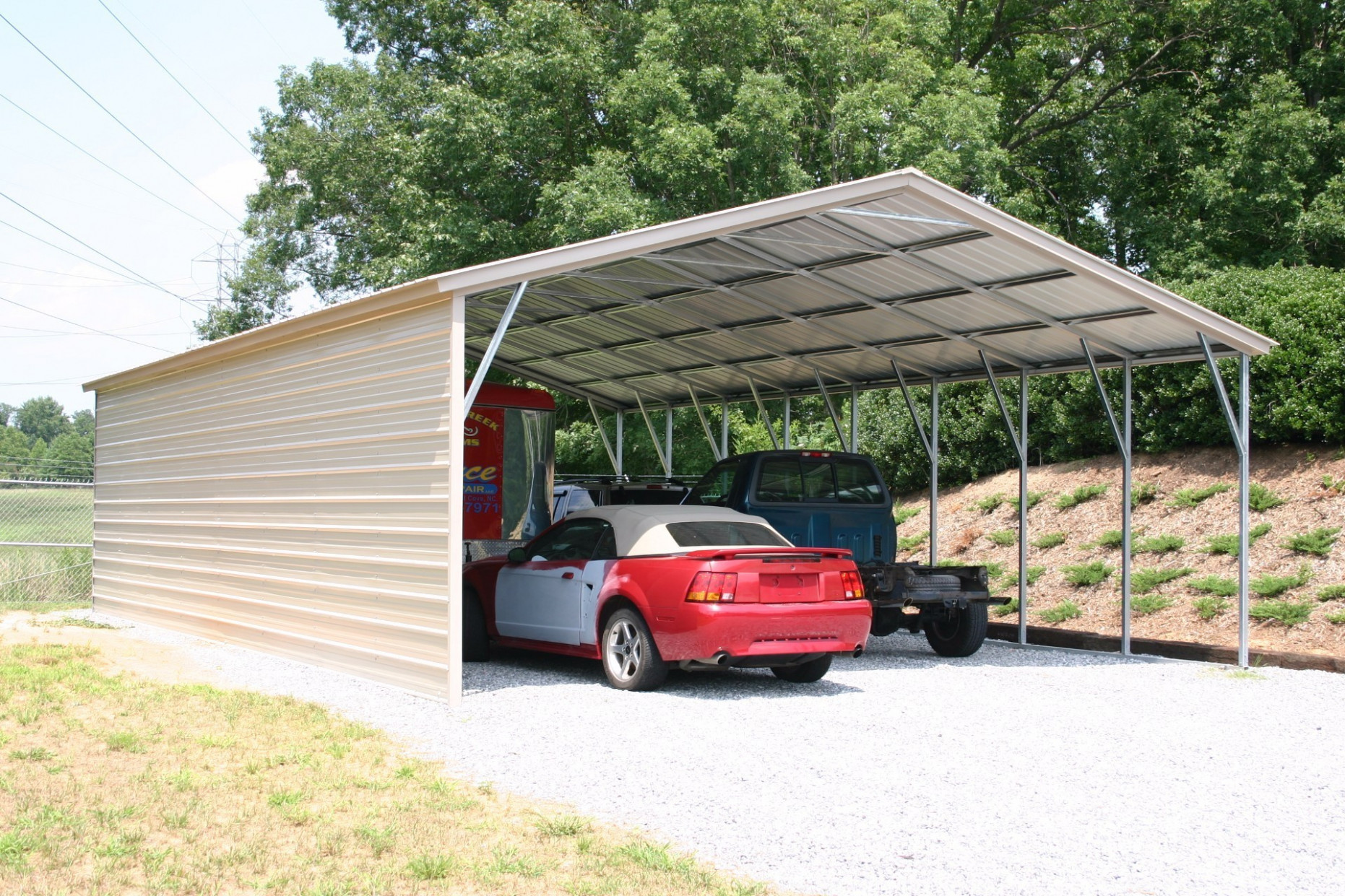 Kansas Carports | Metal Carports KS | Buy Kansas Carports Carolina Carports Garage
