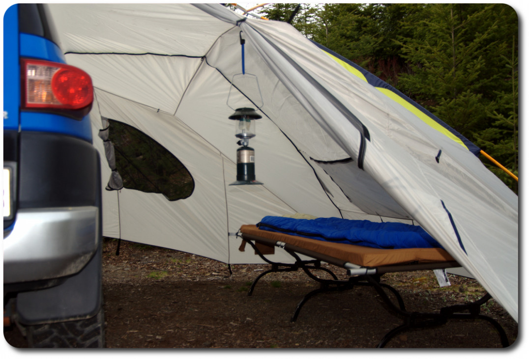 Kelty Carport Shelter Review | Overland Adventures And Off Road Carport Tent Setup
