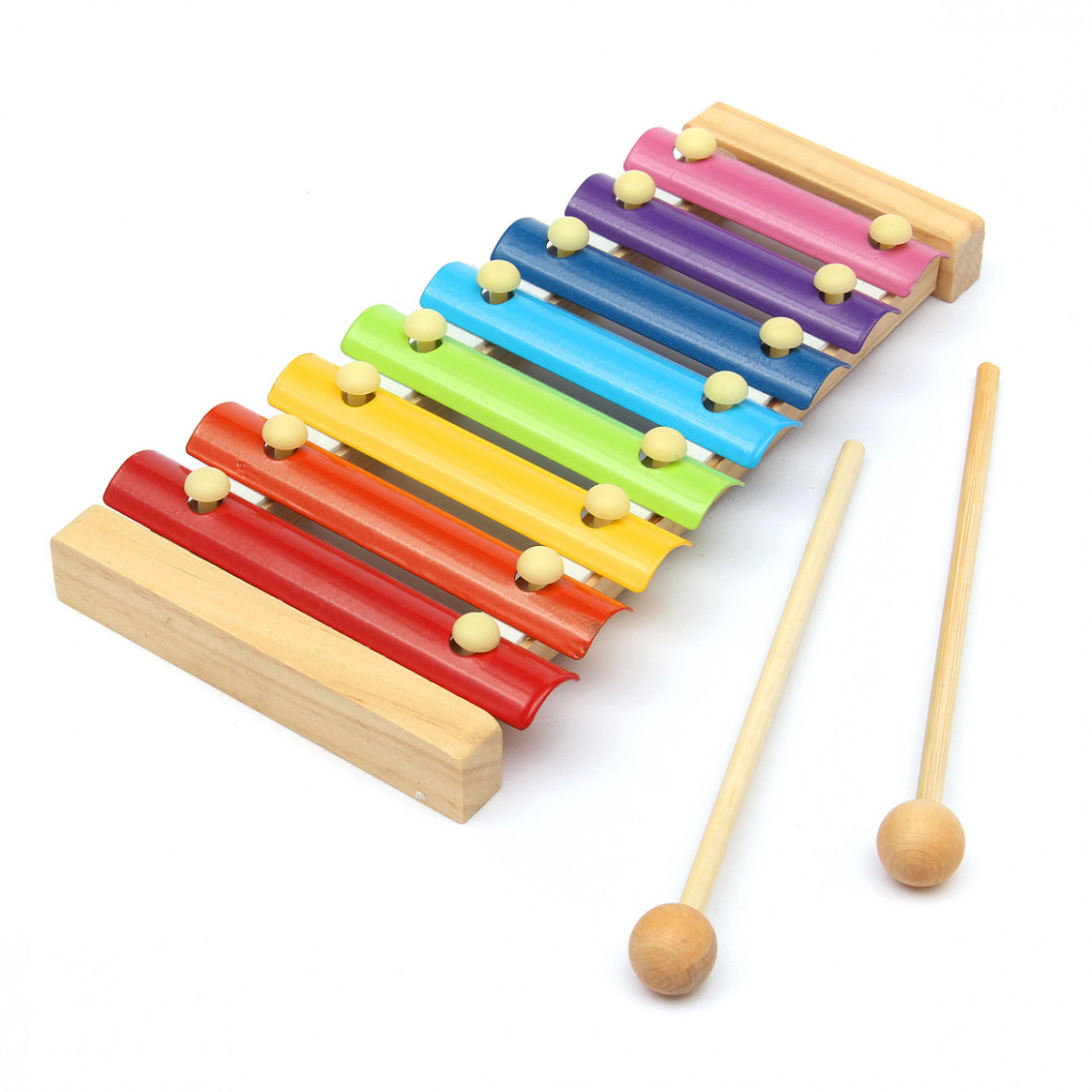 Kids Baby Natural Wooden Piano Educational Xylophone Musical Instrument Glockenspiel Toy Inspire Children's Talent Children Kids Baby Music ..