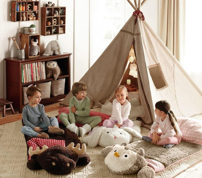 Kids Teepees – Gorgeous Colorful Tents For Kids' Rooms Carports Decorating Activities