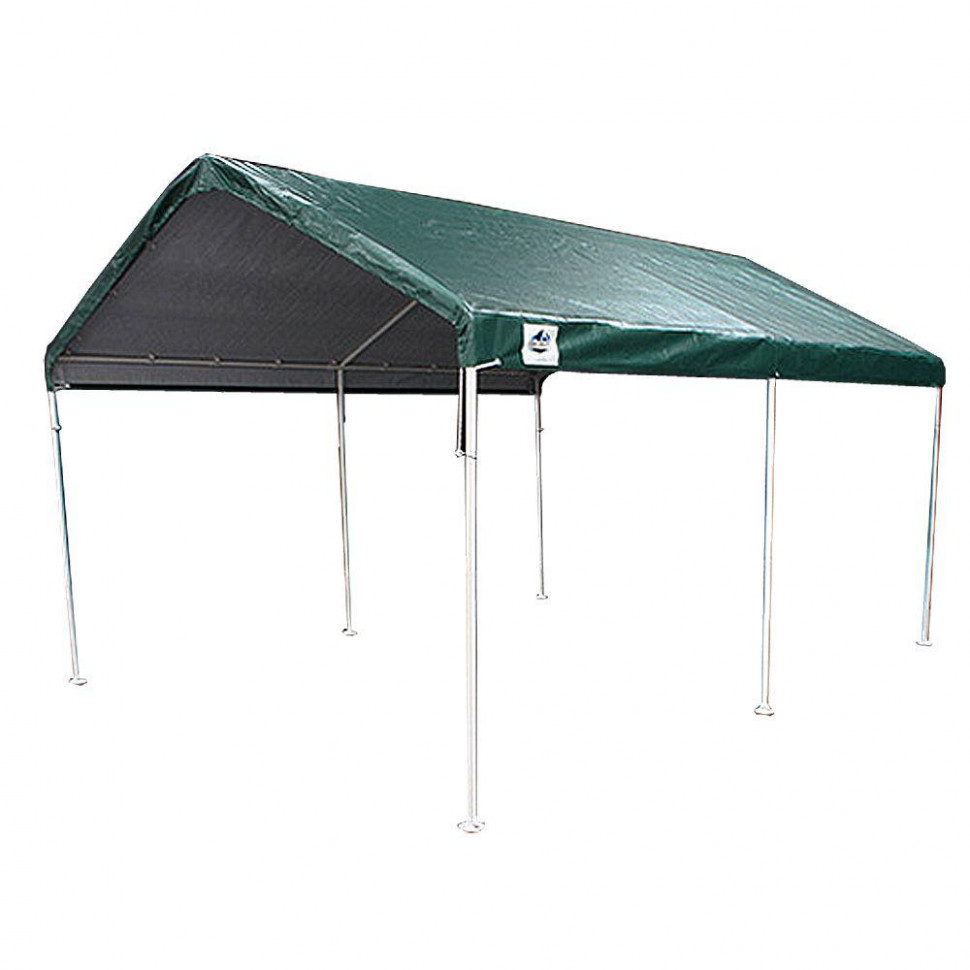 King Canopy 10 Ft. W X 20 Ft. D 6 Leg Universal Canopy In ..