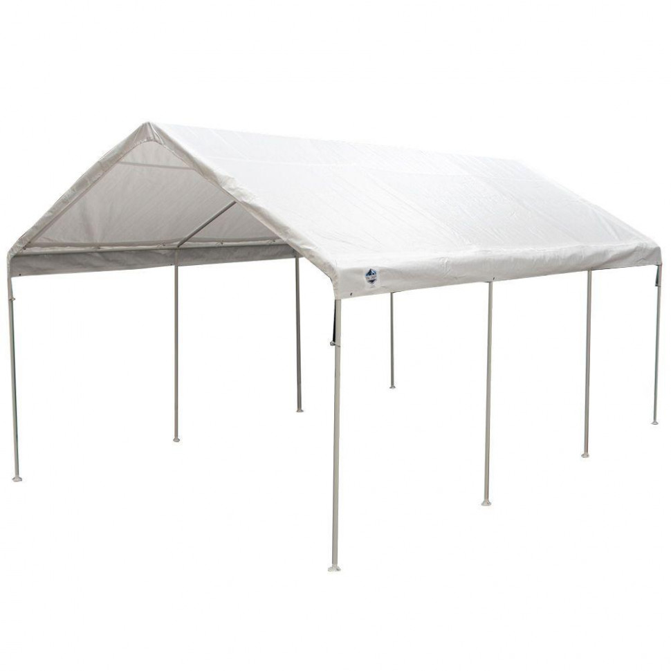 King Canopy 12 Ft. W X 20 Ft. D Universal Canopy In White ..