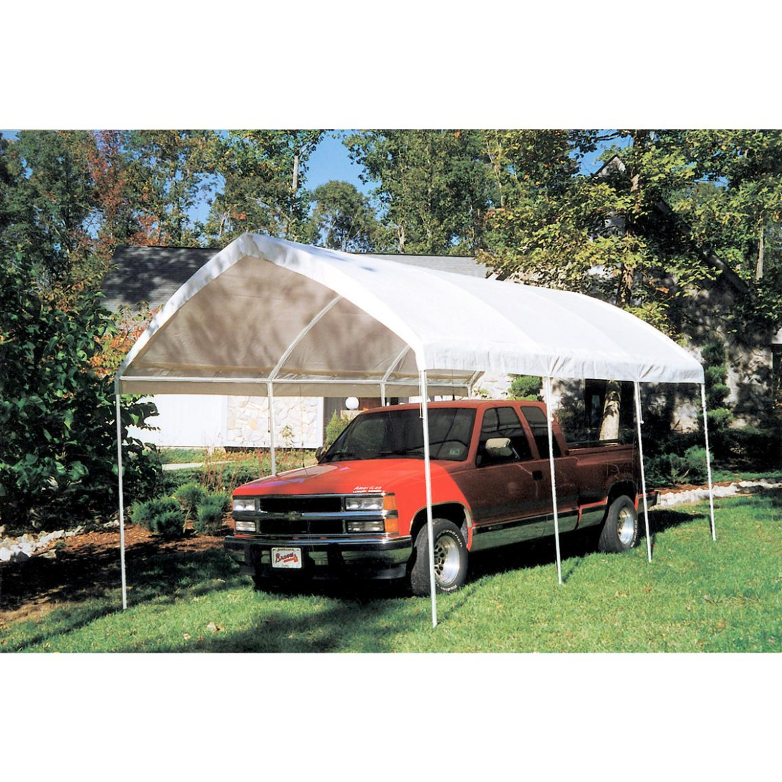King Canopy 12 X 12' Gothic Arch Shelter, White 12 ..