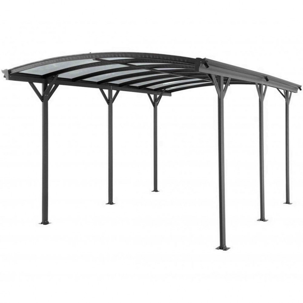 Kingston Curved Carport 11X11