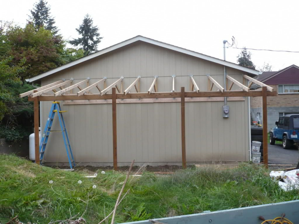 Lean To Carport Build The Garage Journal Board | For The ..