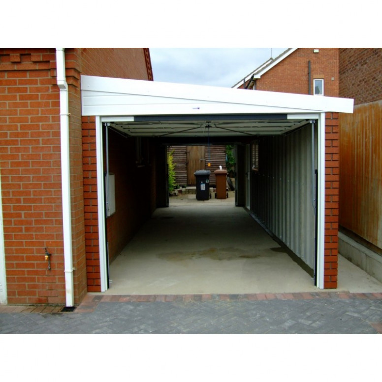 Lean To Concrete Garages All Sheds Lean To Garage Carport