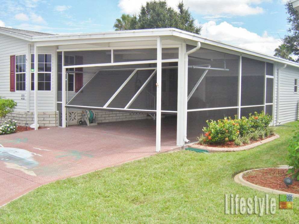 Lifestyle Carport Application: From Carport To Screened Room ..