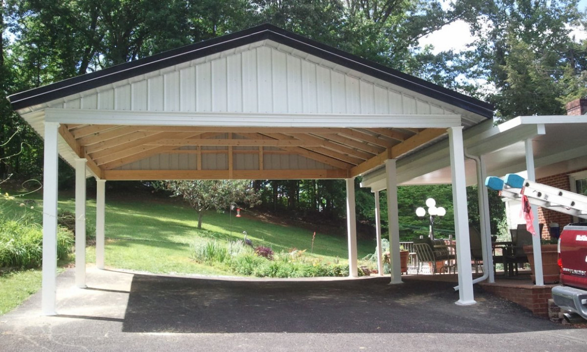 Limited In Size But Highly Protective Carport Designs ..