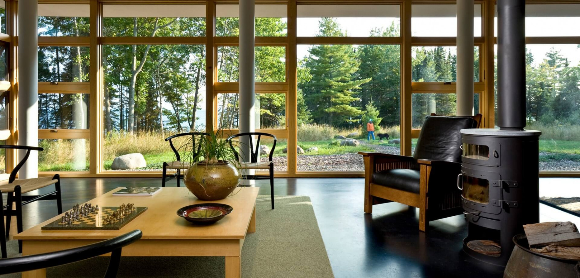 Living Rooms That Don't All Point To The Television Carport Minimalist Zen