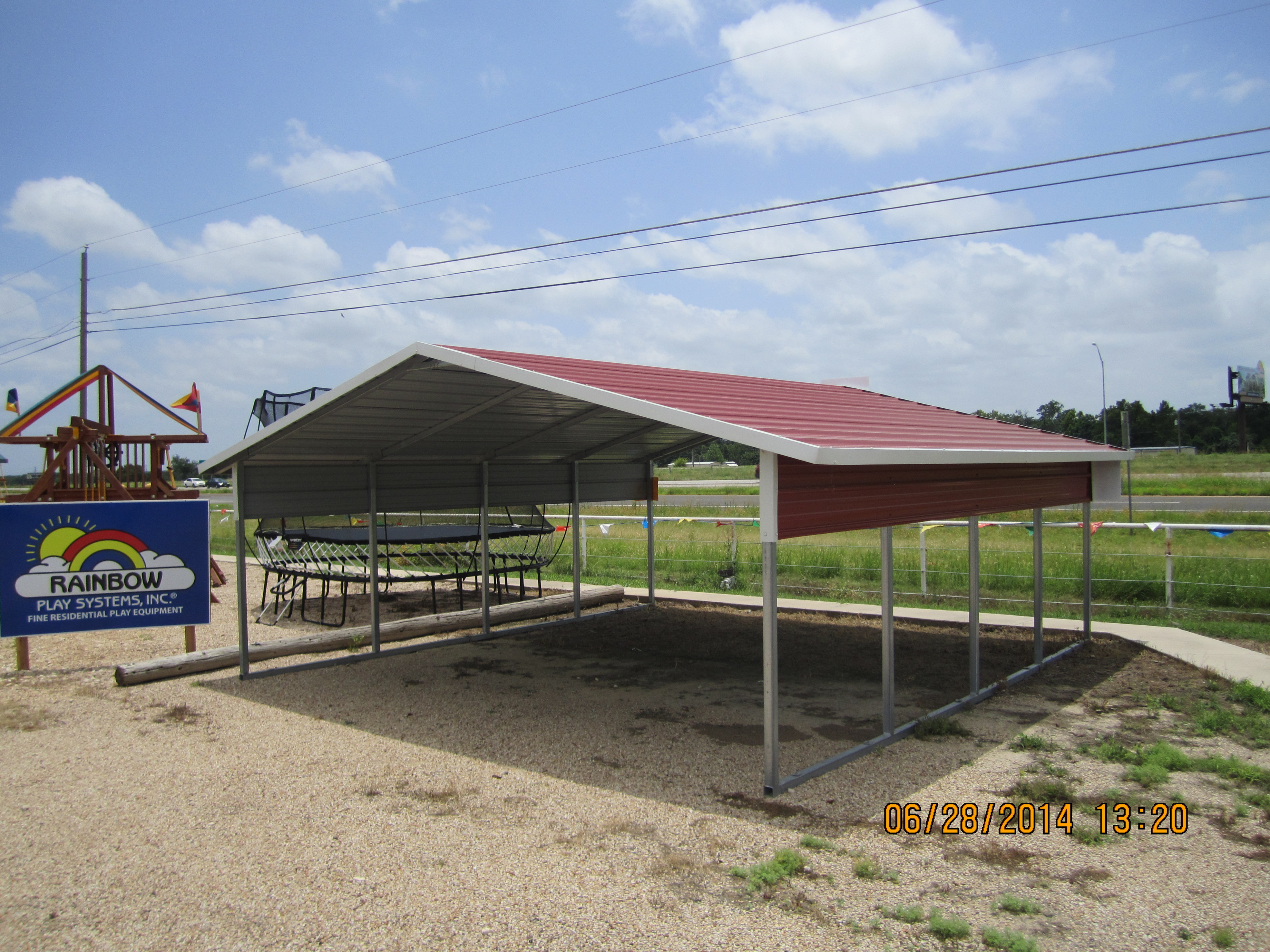Lizards On The Roof • Sheds, Carports And RV Covers Carport Roof Height