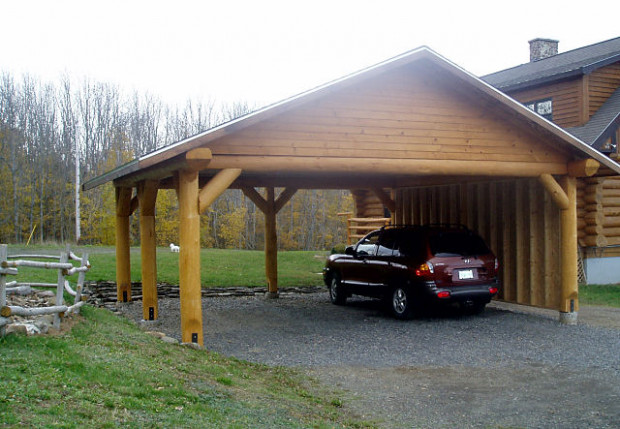 Log Features: Log Post And Beam And Trusses, Log Stairs ..