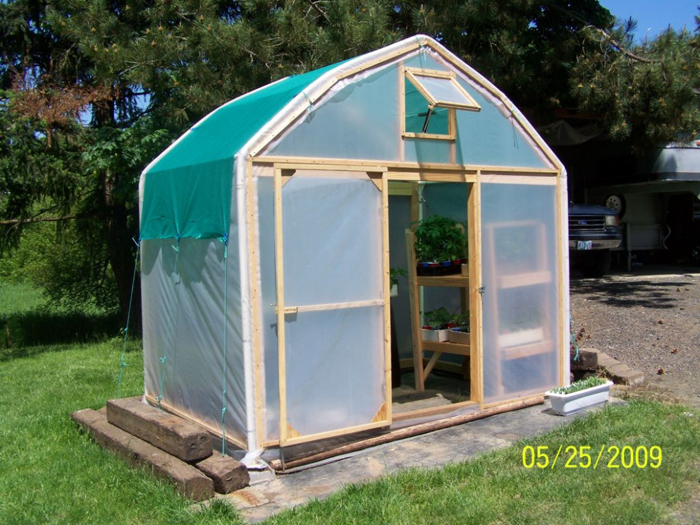 Make A Greenhouse From An Old Carport: 12 Steps (with Pictures) Turn Carport Into Garage