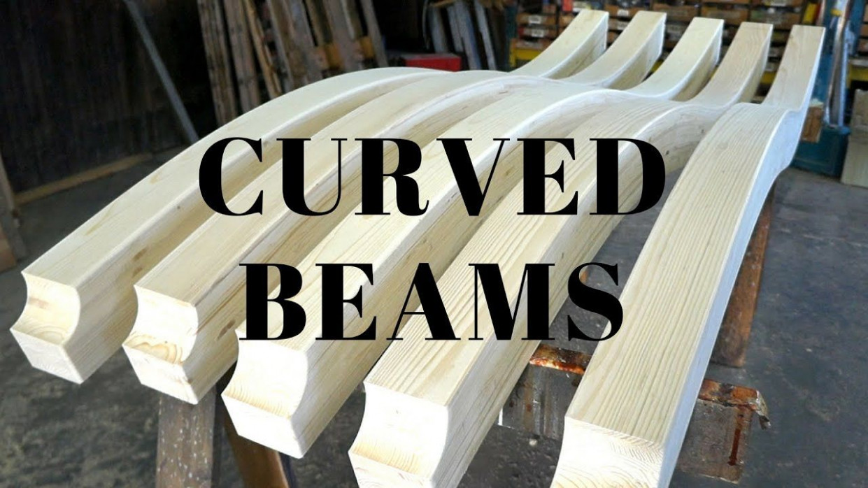 Making Curved Beams YouTube | Round Home Ideas | How To ..