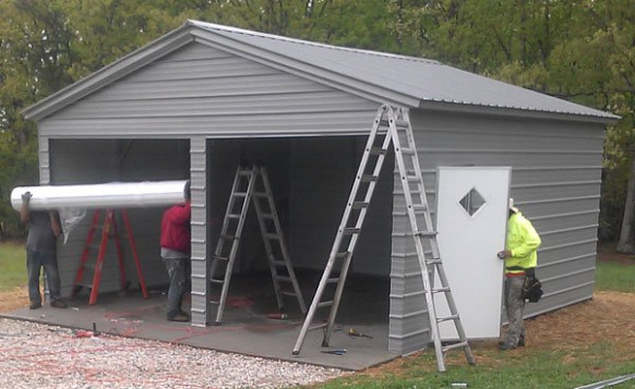 Making Your Garage Energy Efficient How To Make A Carport Into A Garage