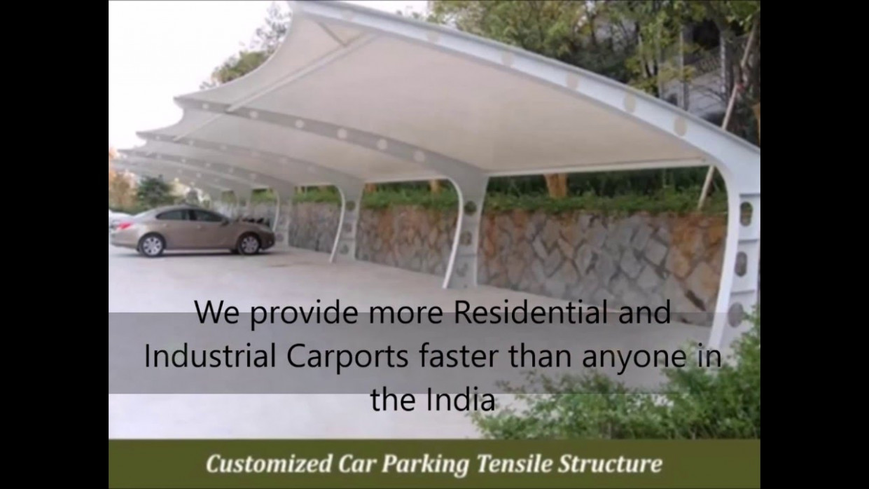 Manufacturers Car Parking Sheds & Structure Design, Supply, Installation &  Construction Delhi, India
