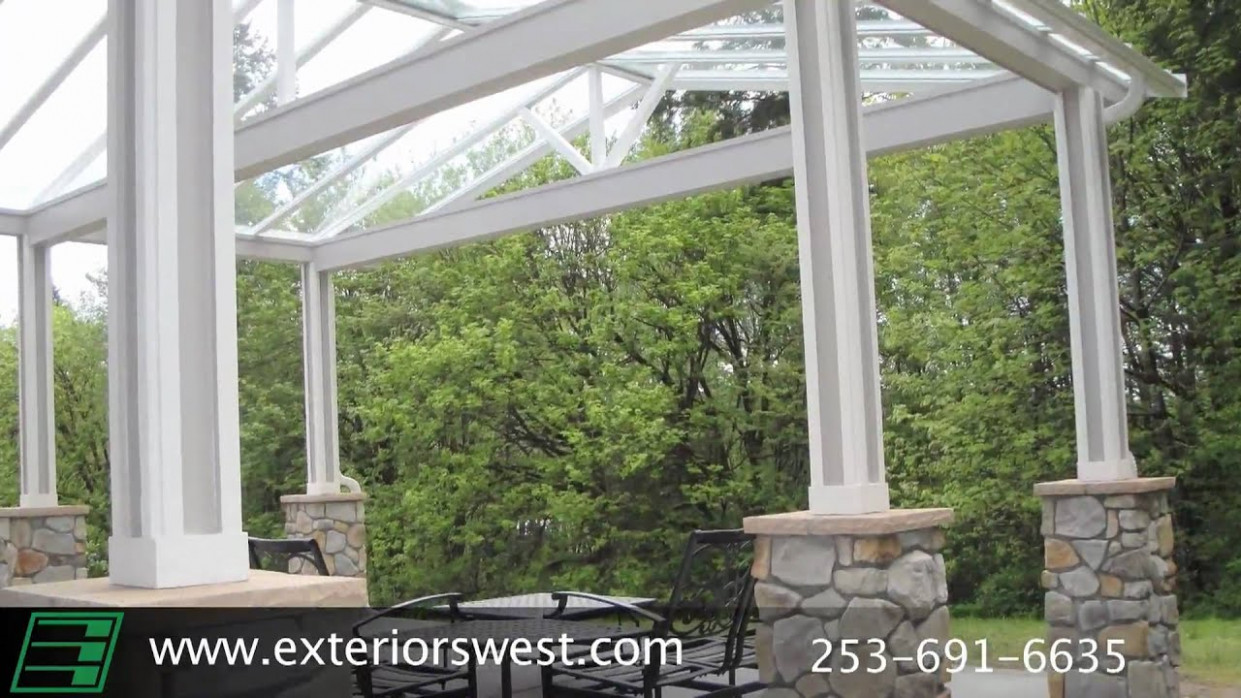 Metal Awnings Contractor In Tacoma WA | Exteriors West Modern Carport And Awning Seattle Wa