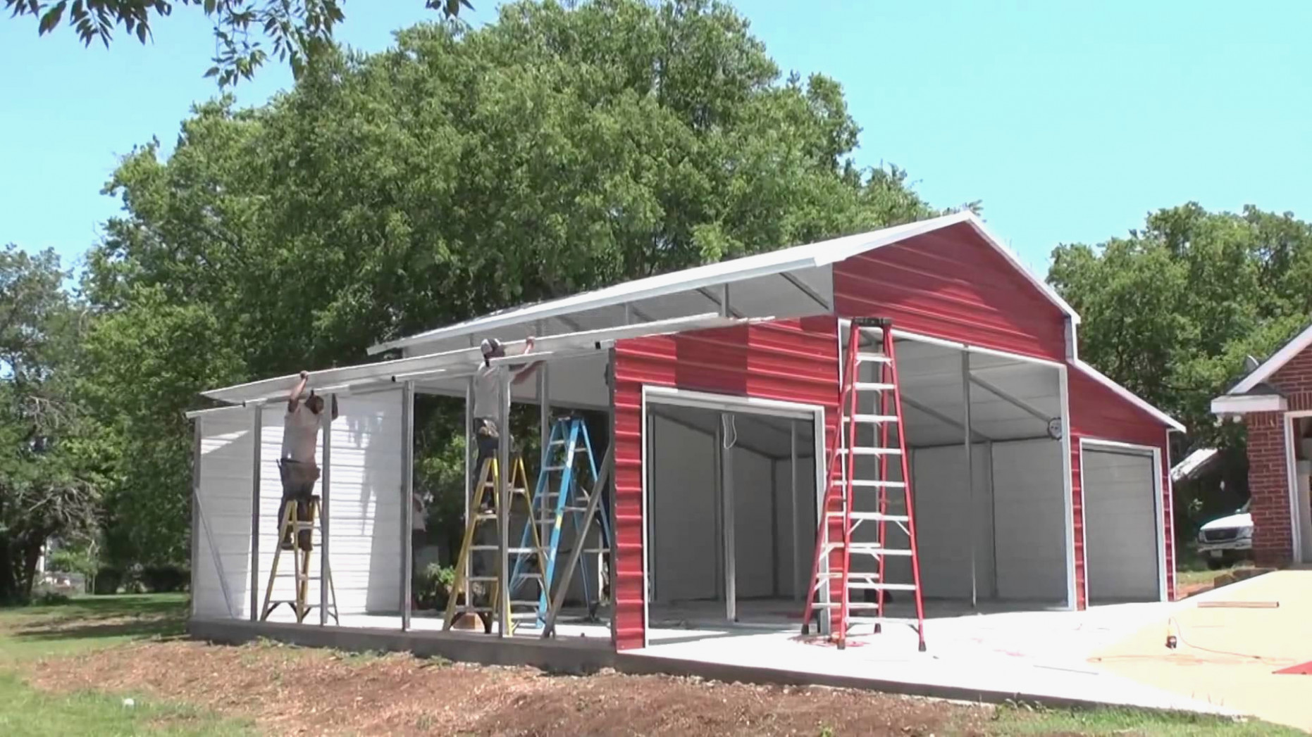 Metal Barn Elegant Metal Carports And Garages Renovations ..