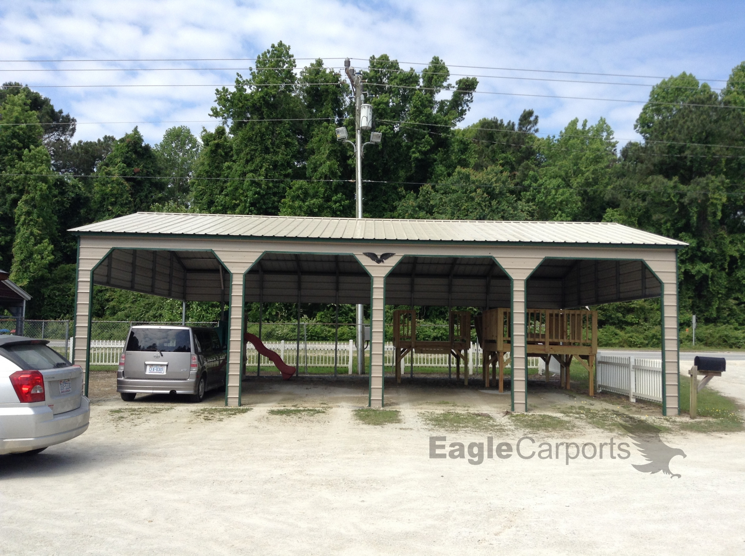 Metal Building And Carport Gallery | Eagle Carports Carports With Garage