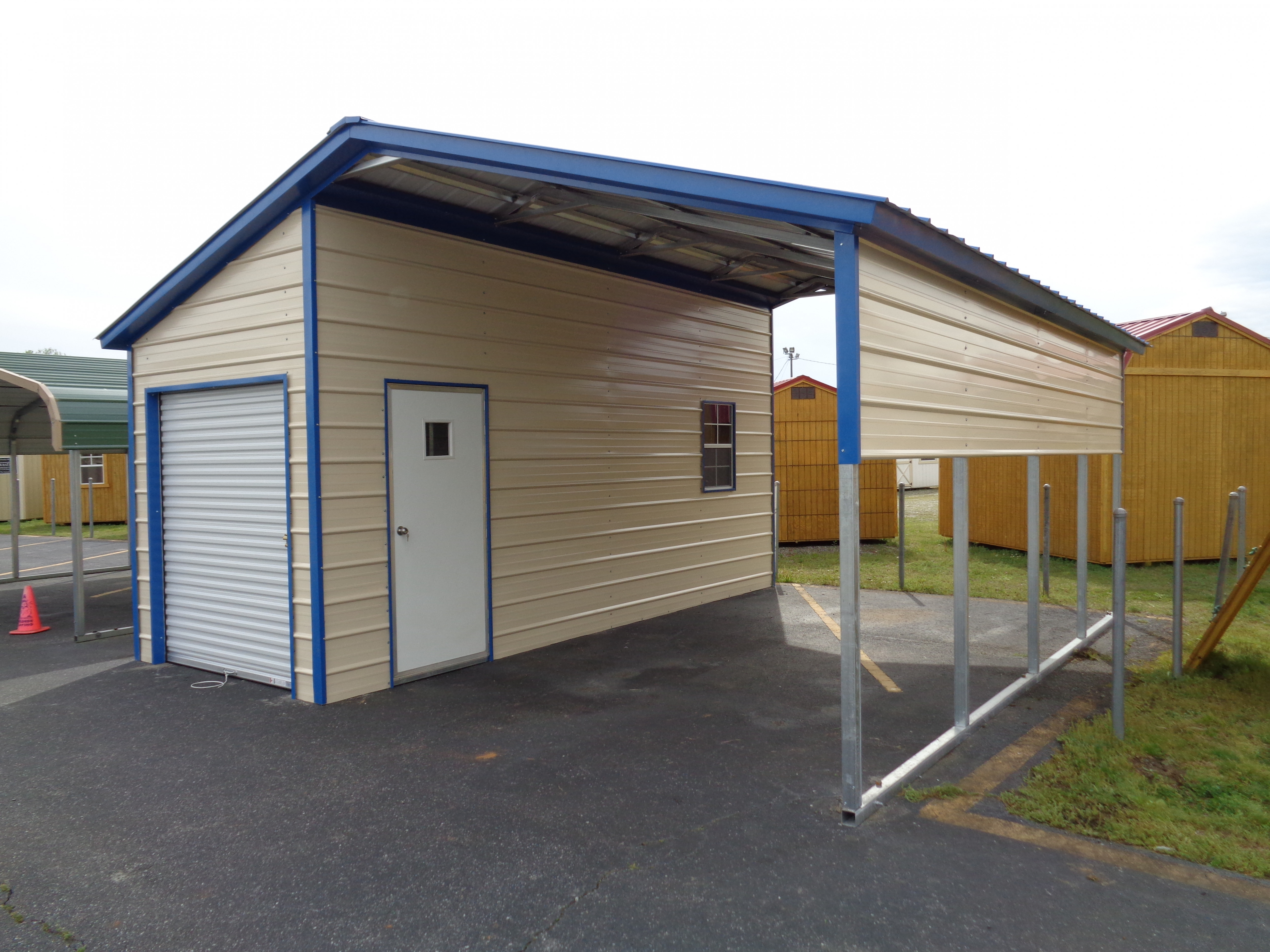 Metal Building And Carport Gallery | Eagle Carports When Does A Carport Become A Garage