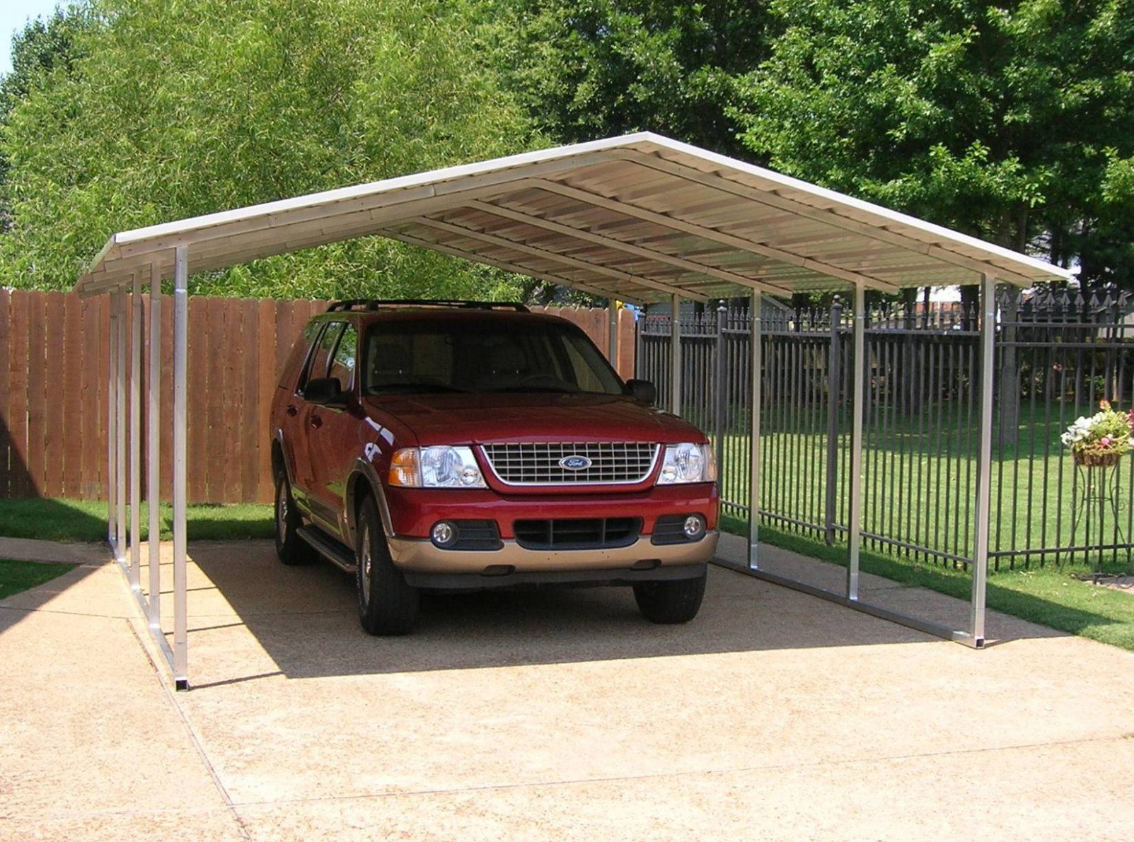 Metal Carport Kits Do Yourself AllstateLogHomes