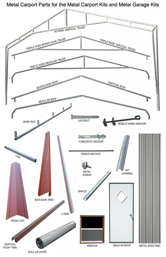 Metal Carport Kits Metal Garage Kits Carports