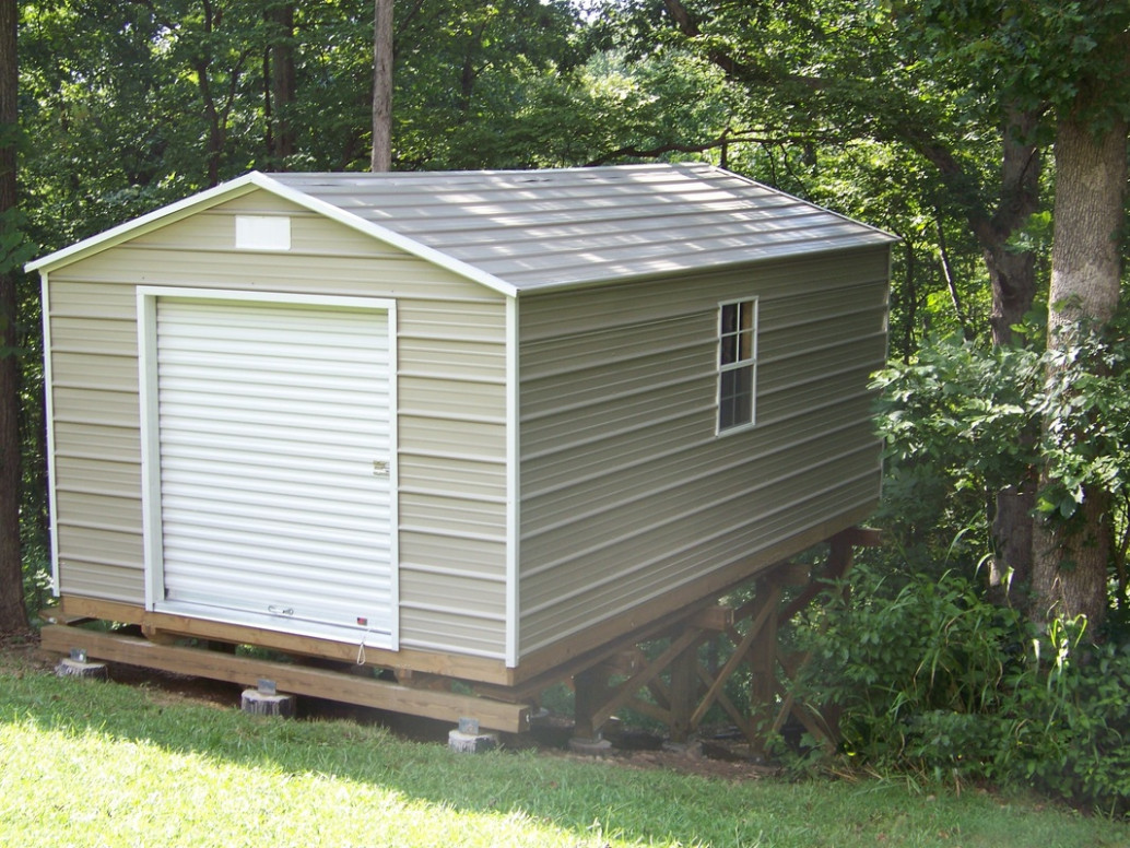 Metal Carports And Garages For Small Houses Like Yours ..