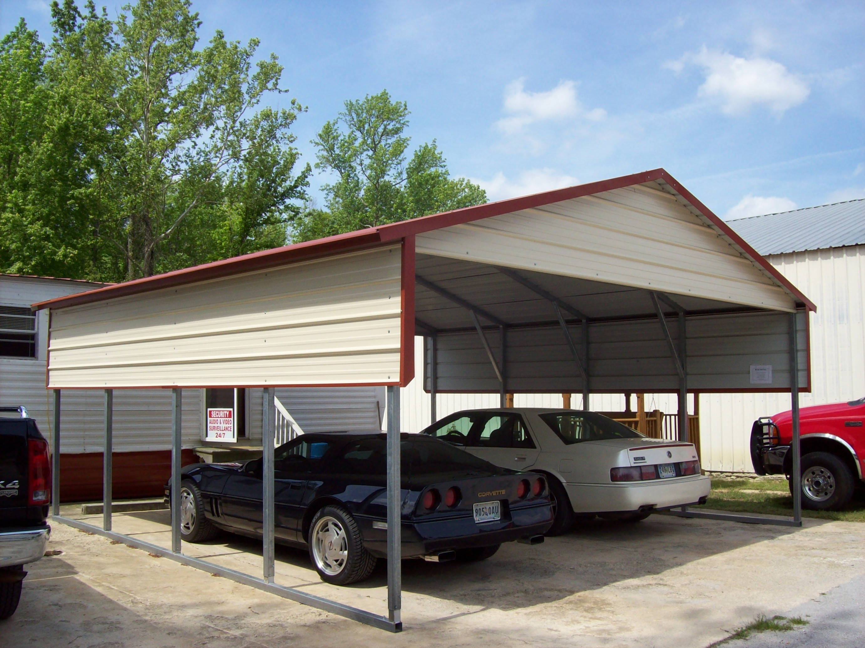 Metal Carports Hattiesburg MS | Mississippi Steel Carport Prices Carport Parking Houston