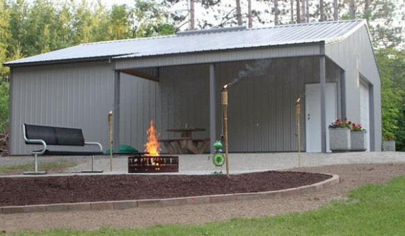 Metal Garage Buildings – Pros, Cons And Useful Buyer's Tips Metal Carports Ideas