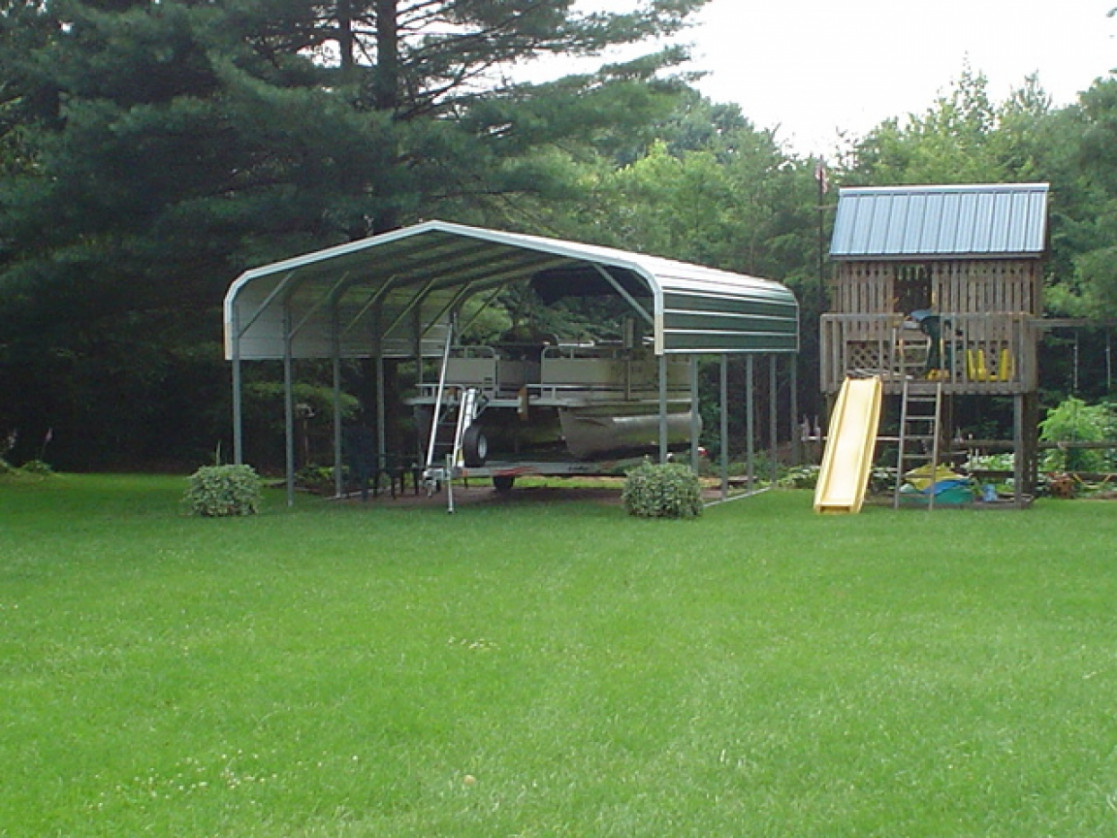 Metal Garage Covers, Metal Carports Attached To House ..