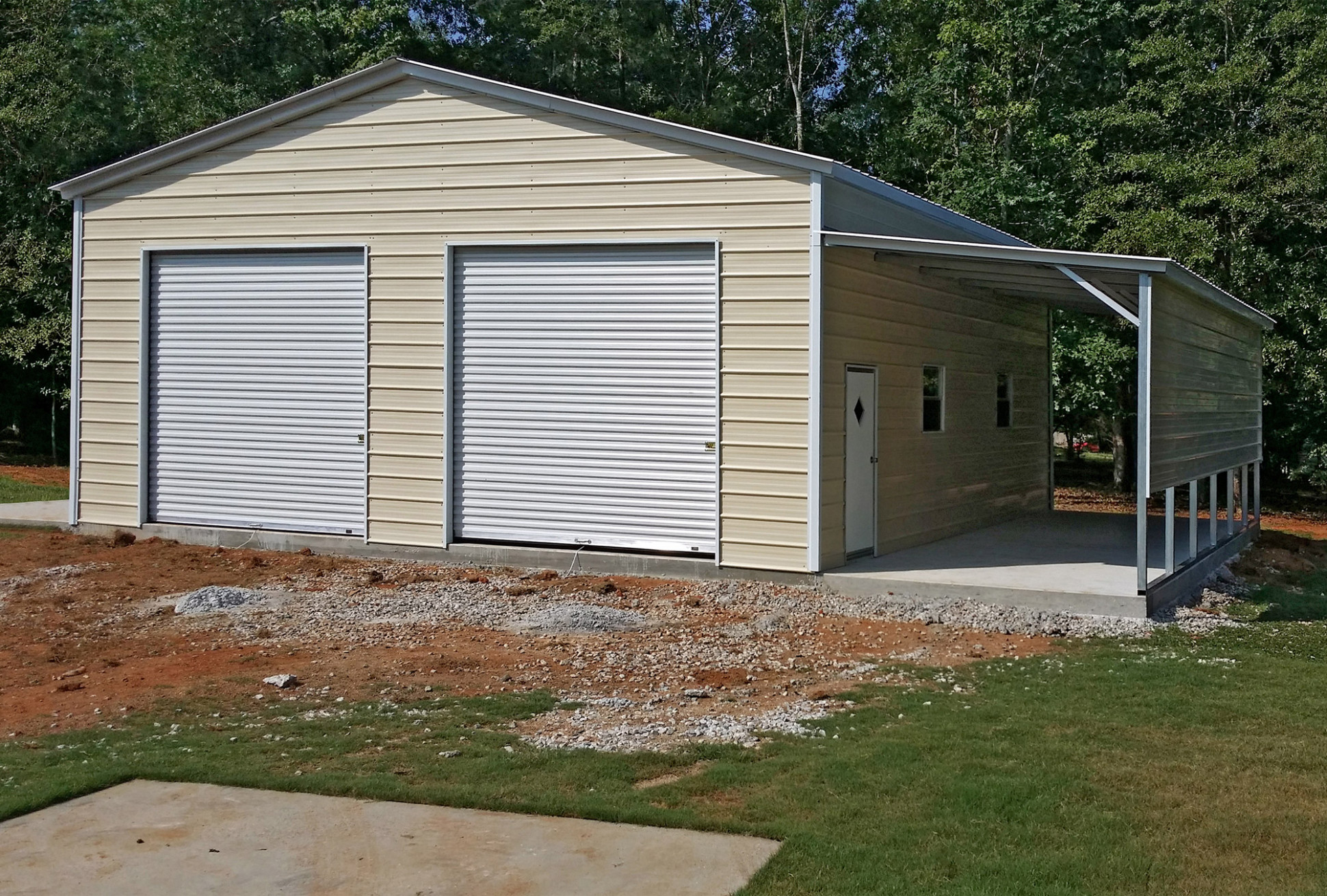Metal Garages & Carports protect your car from sun, rain ...