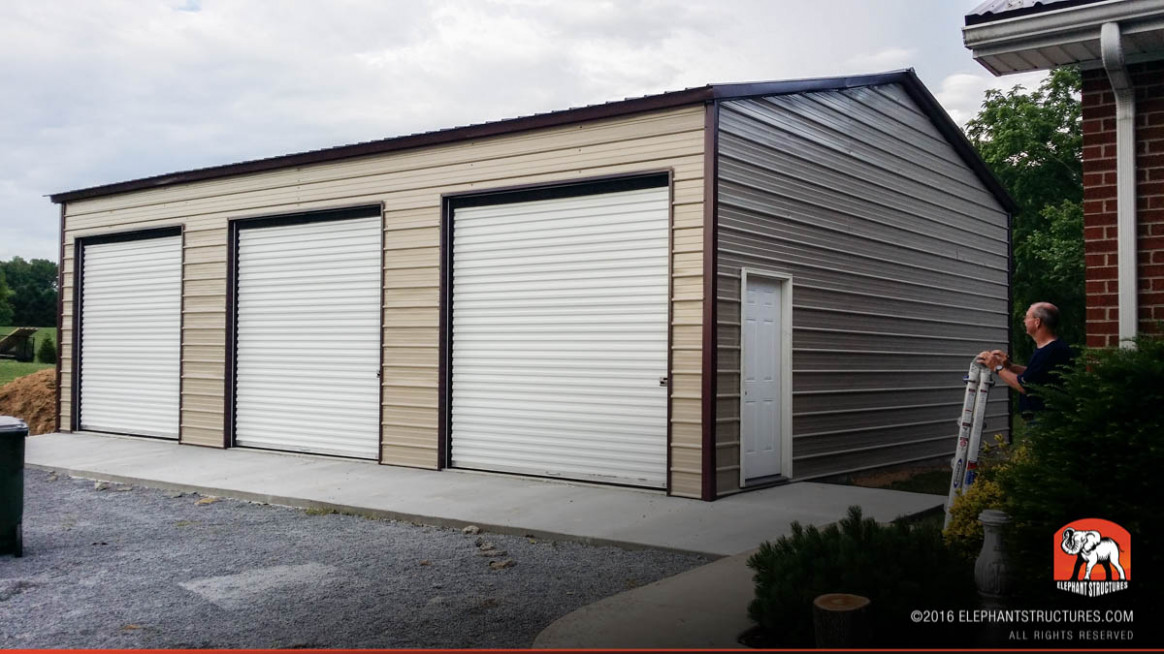 Metal Garages For Sale, Order Customized Metal Garage And Kits Carport And Garage