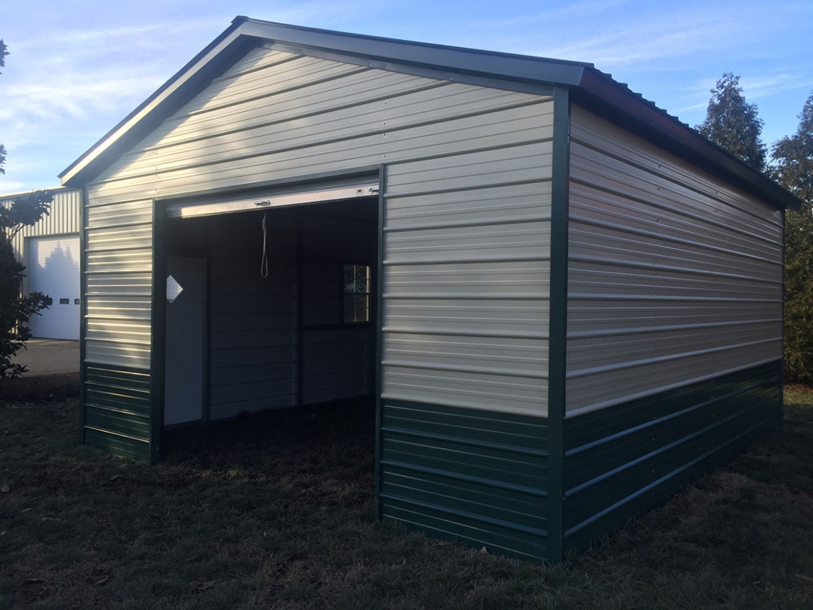 Metal Garages NC | Prefab Garage Prices | Metal Carport Garage
