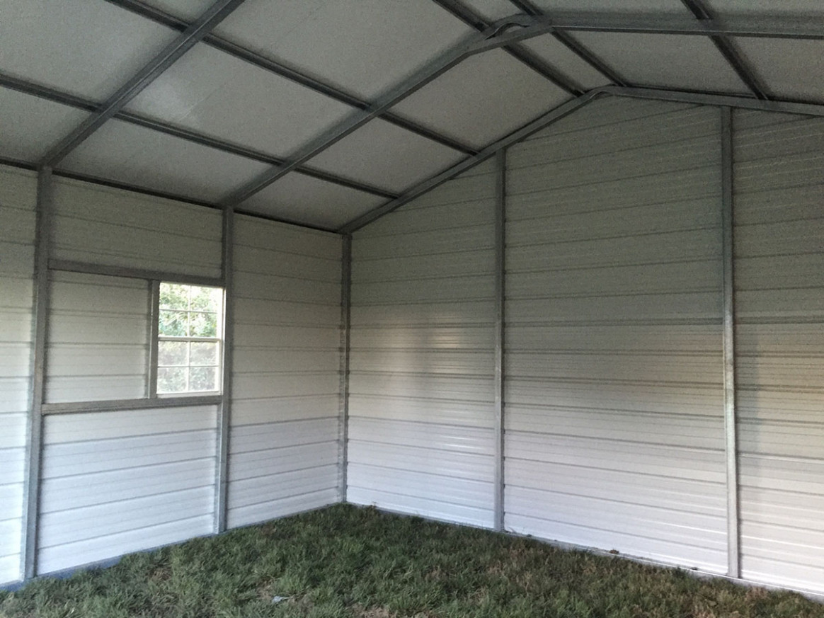 Metal Garages NC | Prefab Garage Prices | Metal Carport Garage Photo Carport Garage