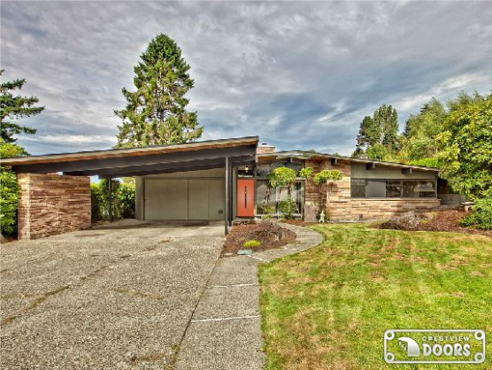 Mid Century Exterior, Notice Carport | Fixin' Up The Ol ..