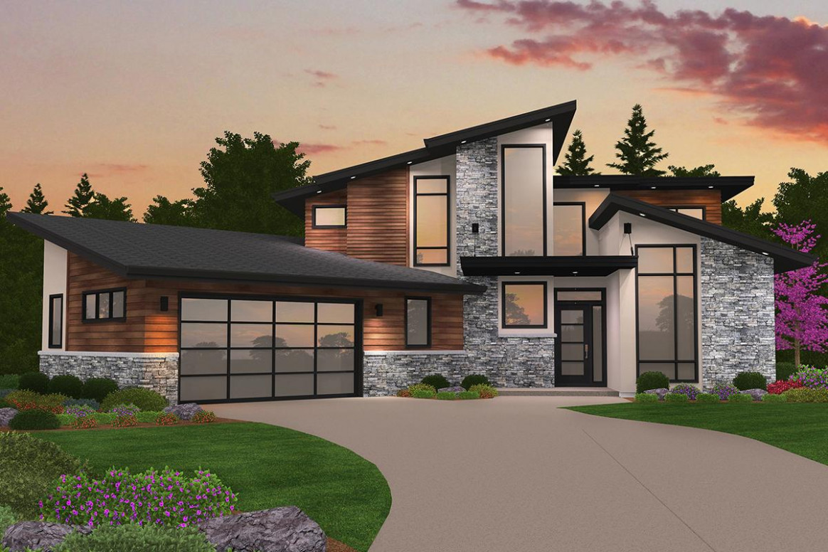 Contemporary House Plans With Carport