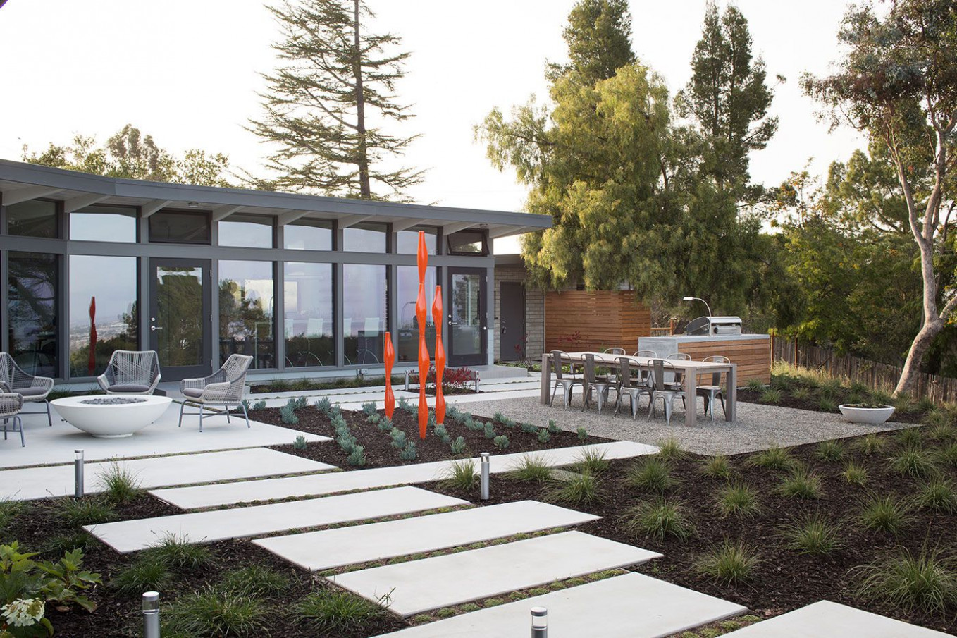 Mid Century Modern View House Remodel By Klopf ..