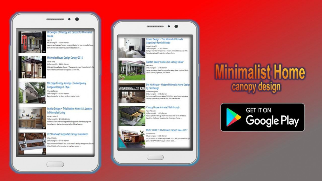 Minimalist Home Canopy Design For Android APK Download Carports Minimalist Video