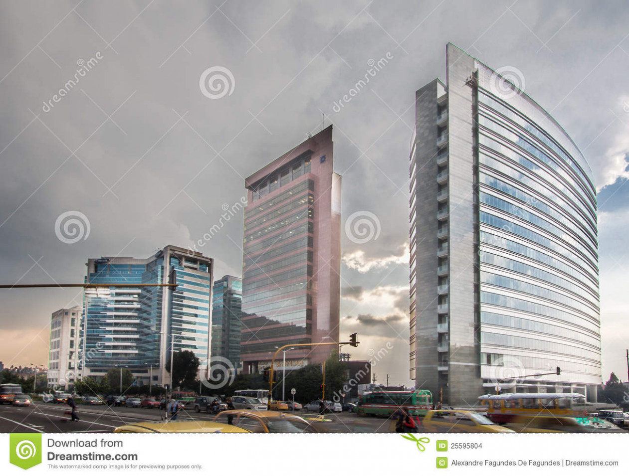Modern Buildings In Bogota Colombia Editorial Stock Image ..